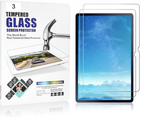 Folie Samsung Galaxy Tab S7 + Plus 12.4 inch 2020 Tempered Glass - Set 3 buc