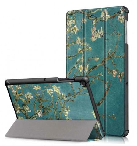 Husa Premium Book Cover Slim Samsung Tab A 10.1 inch 2019 T510 T515 - Blossom