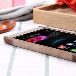 Husa Huawei Mate 9, Denim Business Case, Romiky