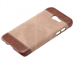 Husa Samsung Galaxy A3 2017 A320 Jeans Pattern - Brown