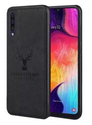 Husa Samsung Galaxy A40 Soft TPU - Deer Head Art
