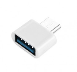 Adaptor OTG USB 3.0 la USB Type-C - High Speed - White