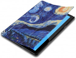 Husa Premium Book Cover SLIM Huawei MediaPad T5 10.1 inch 2018 - Starry Night
