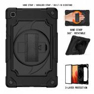 "Husa Heavy Armor Apple iPad 9/ 8 /7 10.2"" (2019-2021) cu Suport de Mana, Stand Rotativ"