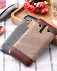 Husa Huawei Mate 9, Denim Business Case, Romiky