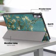 Husa Premium Book Cover Slim Lenovo Tab P11 Pro 11.5 inch (TB-J706) 2020 - Blossom