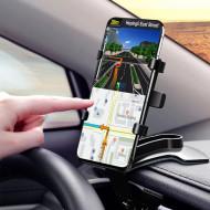Suport Auto pentru Telefon cu fixare pe Bord, Parasolar, Oglinda