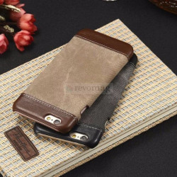 Husa iPhone 8 / 7, 4.7 inch, Jeans Canvas , Romiky