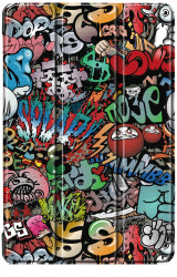 Husa Premium Book Cover SLIM Huawei MediaPad T5 10.1 inch 2018 - Graffiti