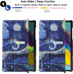 "Husa Premium Ultra Slim Apple iPad 10.2"" (2019-2021) - Starry Night"
