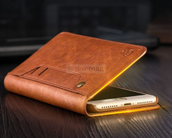 Husa Luxury Flip pt. Apple iPhone 8 Plus 7 Plus cu Stand