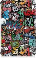 Husa Premium Book Cover Slim Lenovo Tab P11 11inch (2020) - Graffiti
