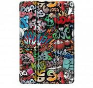 Husa Premium Book Cover Slim Samsung Galaxy Tab A7 Lite 8.7 inch Model SM-T220 / T225 2021 - Graffiti