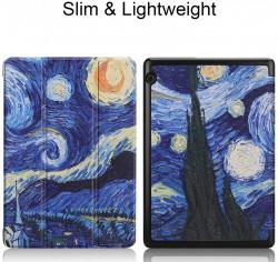 Husa Premium Book Cover Slim Samsung Tab A 10.1 inch 2019 T510 T515 - Starry Night