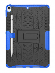 Husa Rugged Hybrid Armor iPad Air 10.5 (2019) Heavy Duty - Albastra