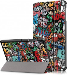 Husa Ultra Slim Lenovo Smart Tab M10 FHD Plus (2nd Gen) 10.3 inch 2020 - Graffiti