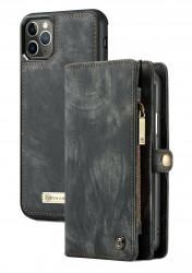 Husa Wallet Apple iPhone 11 Pro - Tip Portofel cu Atasare Magnetica