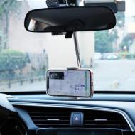 Suport Auto pentru Telefon cu fixare pe Oglinda Retrovizoare