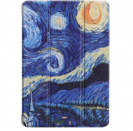 Husa Premium Book Cover Slim Samsung Tab A 10.1 inch 2019 T510 T515 - Starry Night