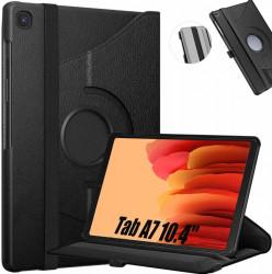 """Husa Samsung Galaxy Tab A7 (2020), 10.4"""" cu Stand Rotativ - Negru"""