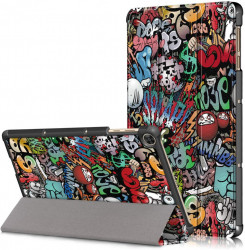 "Husa Ultra Slim Huawei MatePad T10s, 10.1"" / T10 9.7 inch (2020) - Graffiti"