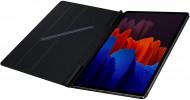 Husa Premium Magnetica Ultra Subtire Samsung Tab S7 Plus 12.4 Inch cu Stand, Auto Sleep / Wake
