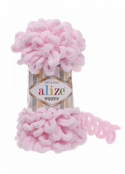 Alize Puffy 31 Baby Pink