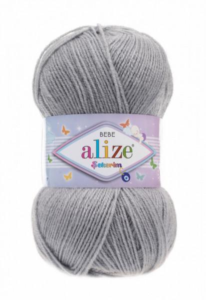 Șekerim Bebe 344 Silver Grey
