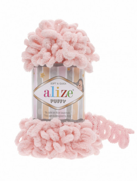 Alize Puffy Powder Pink