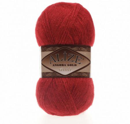 Angora Gold Simli 106 Red