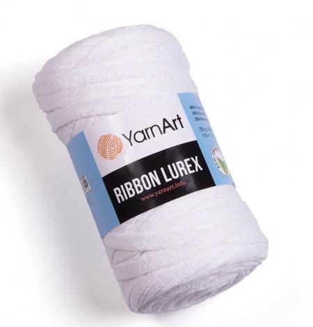 Ribbon Lurex 721 White