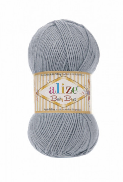 Alize Baby Best 119 Silver Grey