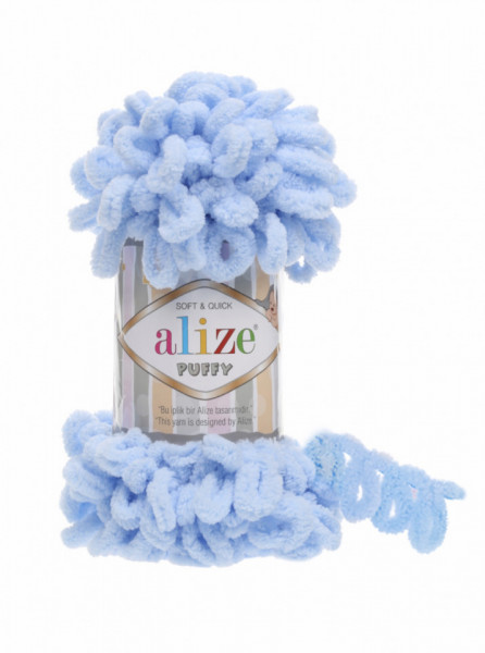 Alize Puffy Light Blue