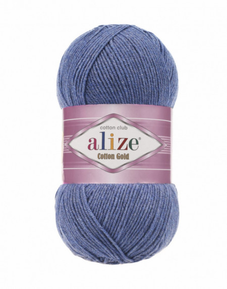 Cotton Gold 374 Blue Melange