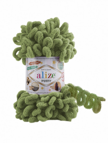 Alize Puffy Turtle Green