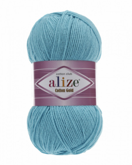 Cotton Gold 287 Turquoise