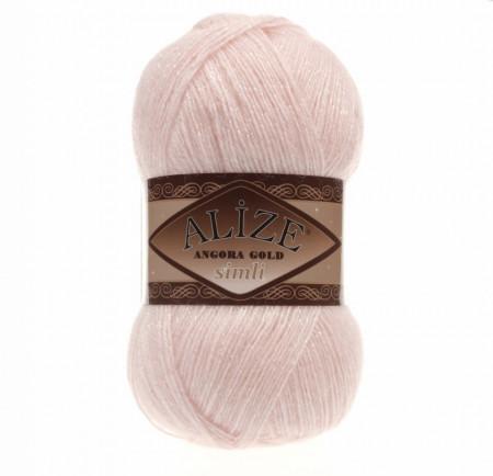 Angora Gold Simli 271 Pink Pearl