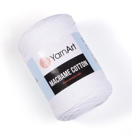 Macrame Cotton 751 White