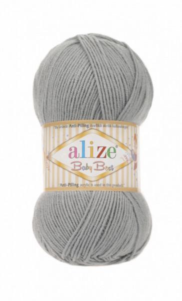 Alize Baby Best 344 Grey