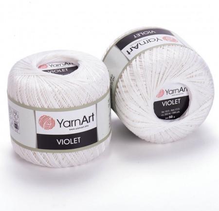 Violet 003 White