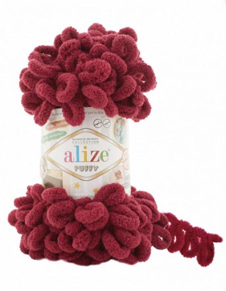Alize Puffy Bordeaux