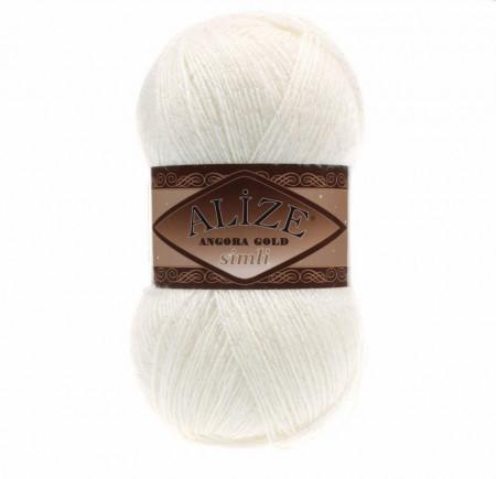 Angora Gold Simli 62 Light Cream