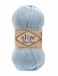 Alize Baby Best 183 Light Blue