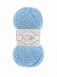 Alize Happy Baby 128 Sky Blue