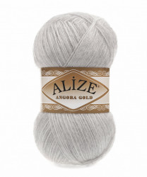 Angora Gold 208 Light Grey Melange