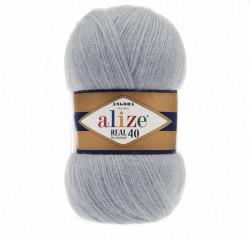 Angora Real 40 - Grey 21