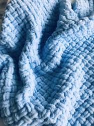 Păturica Light Blue