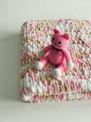 Păturica Soft Rosa + Pisicuța Kissa