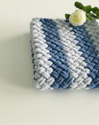 Păturica Soft Blue