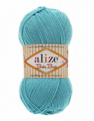 Alize Baby Best 287 Turquoise